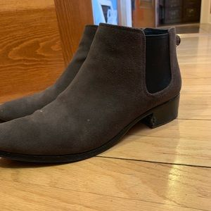 Coach ankle boots size 9 1/2